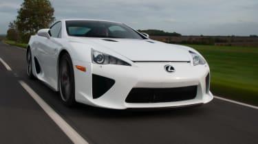 Lexus LFA front white