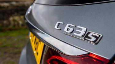 Mercedes-AMG C63 S Estate 2021 – badge