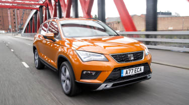 SEAT Ateca front three-quarters