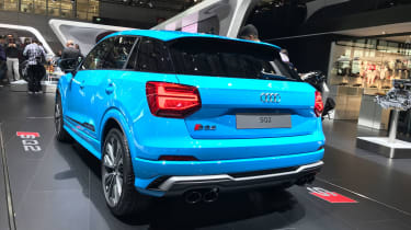 Audi SQ2 Paris motor show - rear
