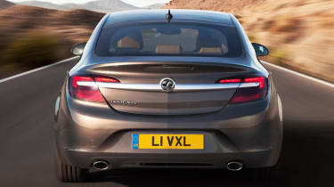 New 2013 Vauxhall Insignia rear lights