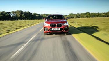 2018 BMW X4 20d drive - front