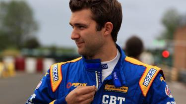 Andrew Jordan BTCC driver