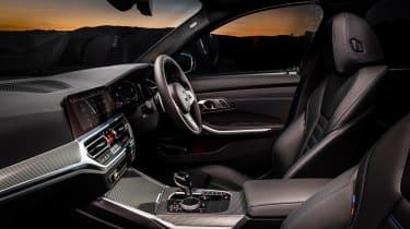 BMW 320d M Sport 2019 cabin