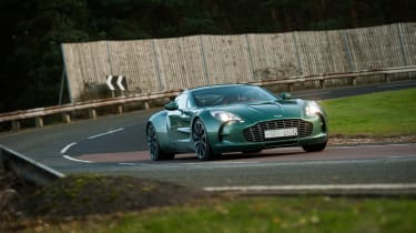 Aston Martin One-77 - front quarter