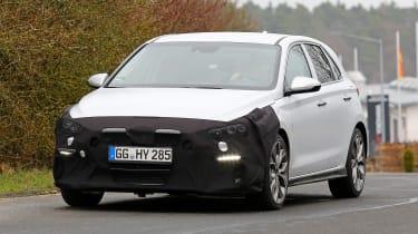 Hyundai i30 N Sport – front quarter