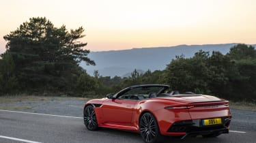 Aston Martin DBS Superleggera Volante rear