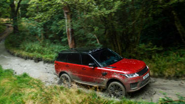 Range Rover Sport - off road profile