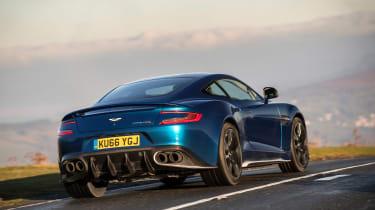 Aston Martin Vanquish S - rear