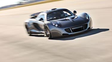 Hennessey Venom GT record run