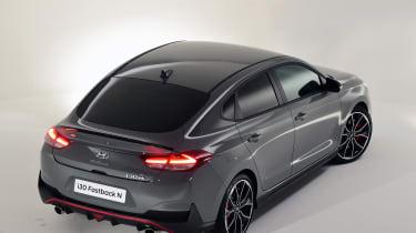 Hyundai i30 Fastback N - rear quarter