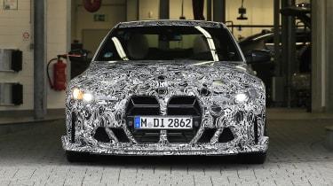 BMW M4 CSL spy 2021 – 8