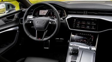 Audi S7 TDI - dash