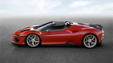 Ferrari J50 sid