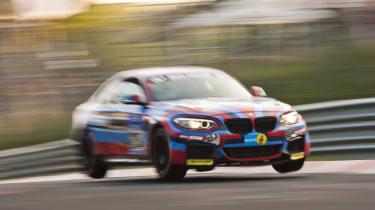 evo Magazine September 2014 - BMW M235i Racing at N24