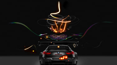 Cao Fei BMW Art Car - rear
