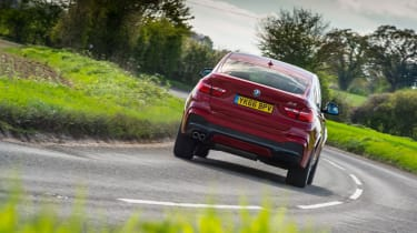 BMW X4 xDrive30d - Rear