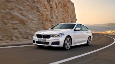 BMW 6-series GT - front driving