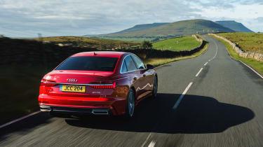 Audi A6 Saloon S-Line - rear