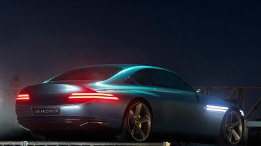 Genesis X Concept - rear night