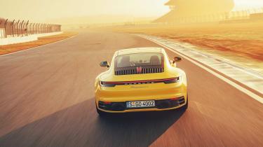 992 Porsche 911 Carrera S review - rear