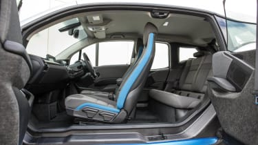 BMW i3 suicide doors open