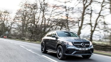 Mercedes-AMG GLE 63 S Coupe - front