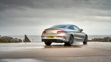 Mercedes-AMG C43 Coupe 2018 review - rear quarter