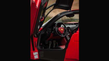 Ferrari Enzo evo interior