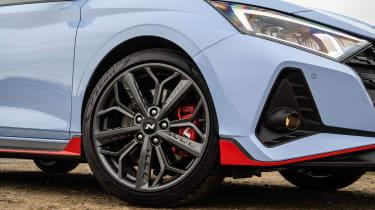 Hyundai i20 N - wheels