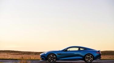 Aston Martin Vanquish S - side profile