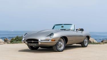 Jaguar e-type Zero drive - front