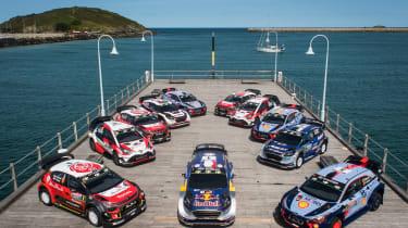 WRC Rally Australia - group