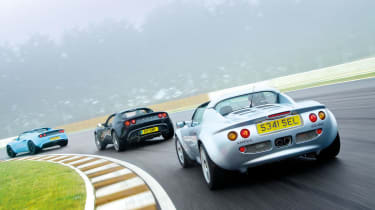 Lotus Elise S1 and S2