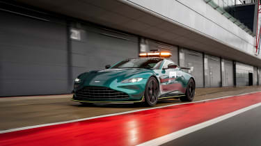 Aston Martin Vantage safety car - front static