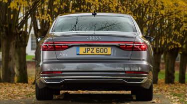 Audi A8 – rear