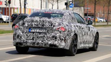 2021 BMW 2-series set 2 spy – rear quarter