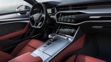 Audi S7 2019 - dash