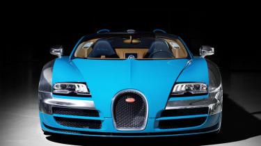 Bugatti Veyron Meo Costantini front