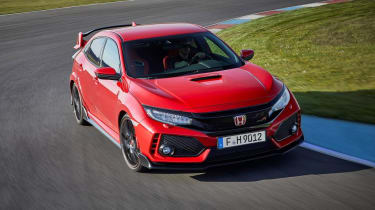 Honda Civic Type R - front cornering