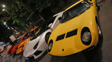 Lamborghini V12 timeine video