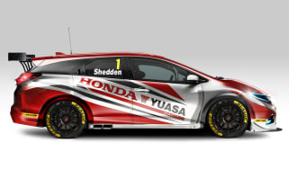 Honda reveals Civic Tourer BTCC entry