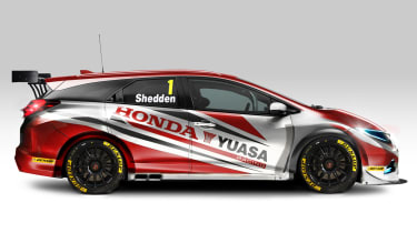 Honda reveals Civic Tourer BTCC entry