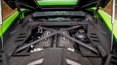 Lamborghini Huracán Evo RWD – engine