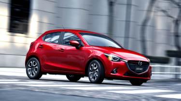 New Mazda 2 red