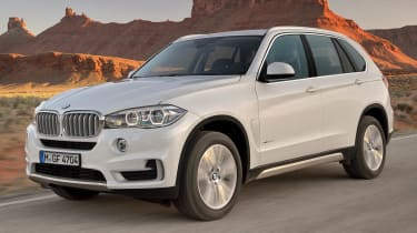 New 2013 BMW X5 white front