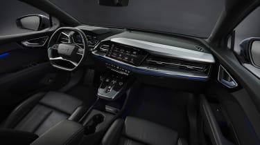 Audi Q4 e-tron Sportback – interior