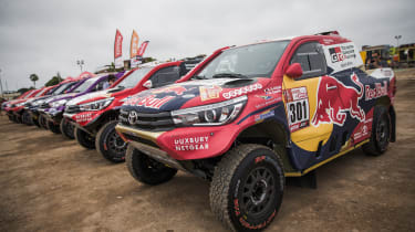Toyota GAZOO Racing Hilux – Dakar