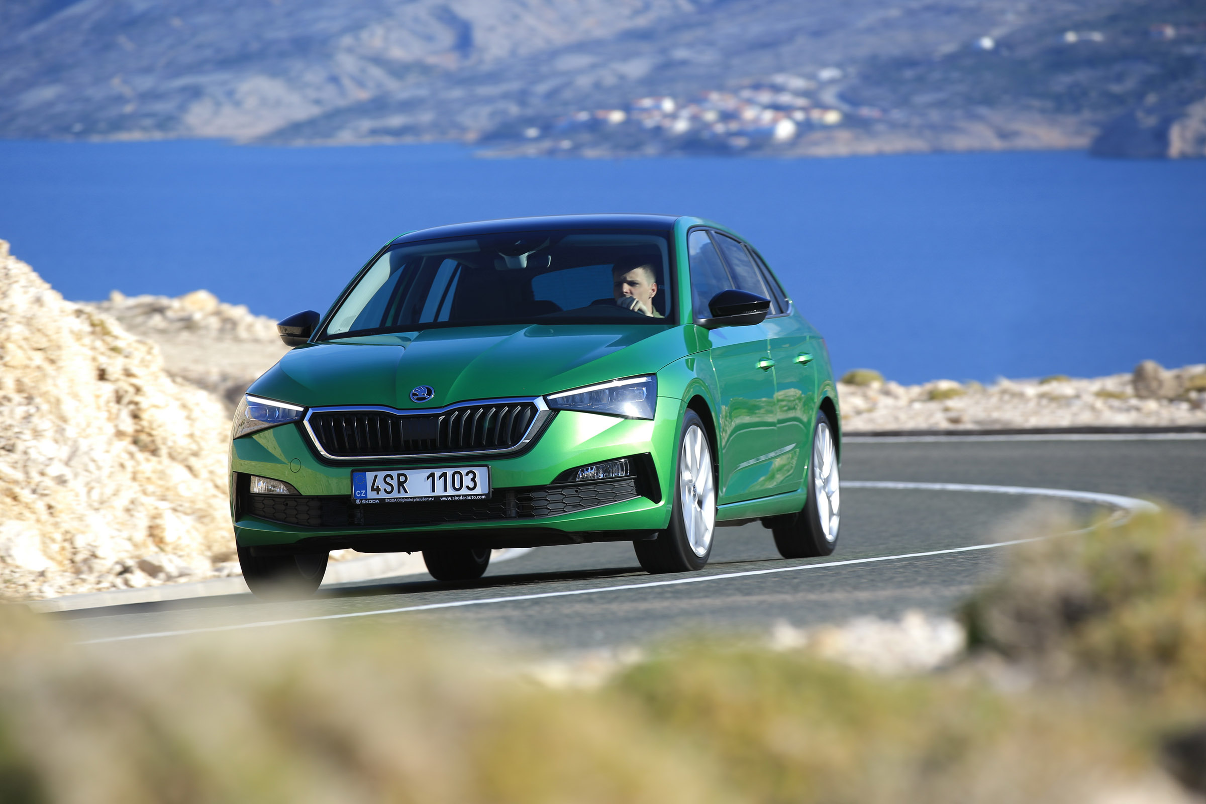 New Skoda Scala 2019 Review Middleweight Hatch Targets Ford Focus And Vw Golf Evo