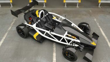 Ariel Atom 3.5R top down picture